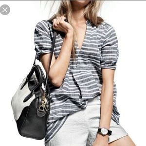 J. Crew striped tunic